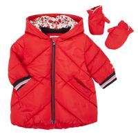 vaatteet Tytöt Toppatakki Catimini CR42013-38 Punainen