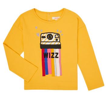vaatteet Tytöt T-paidat pitkillä hihoilla Catimini CR10135-72-C Keltainen