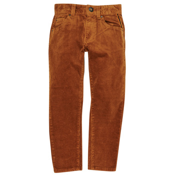 vaatteet Pojat 5-taskuiset housut Catimini CR22024-64-C Ruskea