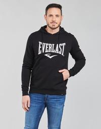 vaatteet Miehet Svetari Everlast BASIC-HOODED-TAYLOR Musta