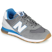 kengät Miehet Matalavartiset tennarit New Balance 574 Grey / Blue