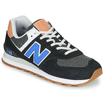kengät Miehet Matalavartiset tennarit New Balance 574 Black / Blue