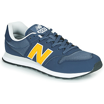 kengät Miehet Matalavartiset tennarit New Balance 500 Blue / Yellow