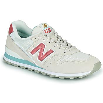 kengät Naiset Matalavartiset tennarit New Balance 996 Beige / Pink