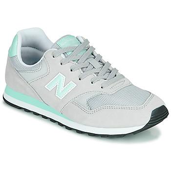 kengät Naiset Matalavartiset tennarit New Balance 393 Harmaa