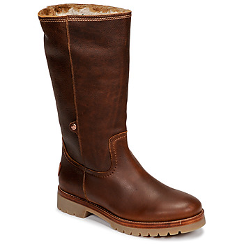 kengät Naiset Bootsit Panama Jack BAMBINA Ruskea