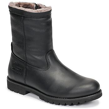 kengät Miehet Bootsit Panama Jack FEDRO Musta