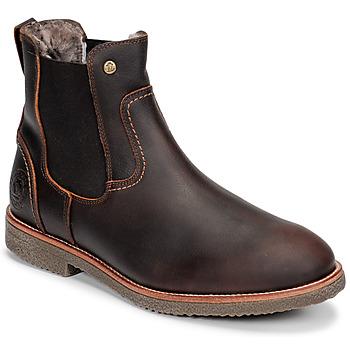 kengät Miehet Bootsit Panama Jack GARNOCK Ruskea
