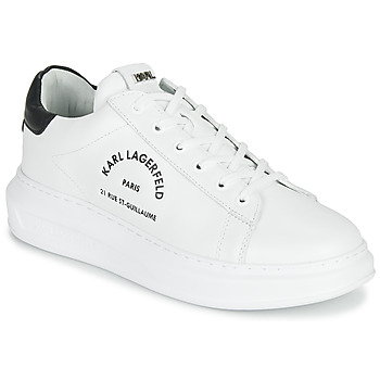 kengät Miehet Matalavartiset tennarit Karl Lagerfeld KAPRI MAISON KARL LACE White