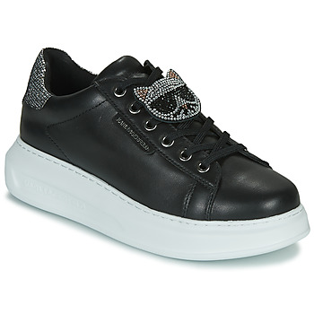 kengät Naiset Matalavartiset tennarit Karl Lagerfeld KAPRI IKONIC TWIN LO LACE Black