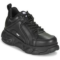 kengät Naiset Matalavartiset tennarit Buffalo CORIN Musta