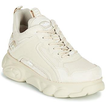 kengät Naiset Matalavartiset tennarit Buffalo CHAI Creme