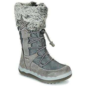 kengät Tytöt Talvisaappaat Primigi FROZEN GTX Grey