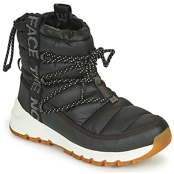 kengät Naiset Talvisaappaat The North Face W THERMOBALL LACE UP Black / White