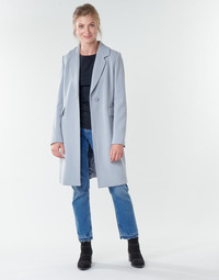 vaatteet Naiset Paksu takki Benetton 2AMH5K2R5 Harmaa
