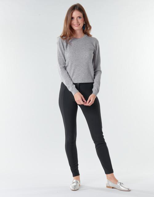 vaatteet Naiset Väljät housut / Haaremihousut Benetton 4SK755944 Black