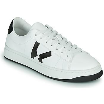 kengät Naiset Matalavartiset tennarit Kenzo K LOGO Valkoinen