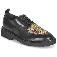 kengät Naiset Derby-kengät Kenzo K MOUNT Black / Leopardi