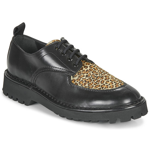kengät Naiset Derby-kengät Kenzo K MOUNT Musta / Leopardi