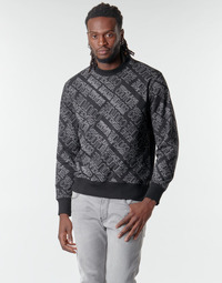 vaatteet Miehet Svetari Versace Jeans Couture B7GZB7F5 Musta
