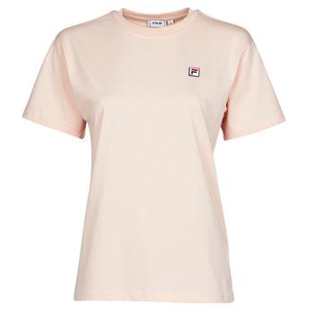 vaatteet Naiset Lyhythihainen t-paita Fila 682319 Vaaleanpunainen