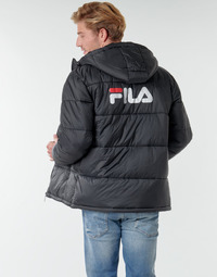 vaatteet Miehet Toppatakki Fila SCOOTER PUFFER JACKET Musta