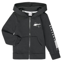 vaatteet Pojat Svetari Puma ALPHA HOODED JACKET Black