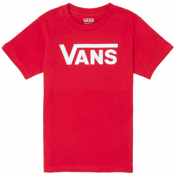 vaatteet Pojat Lyhythihainen t-paita Vans BY VANS CLASSIC Red