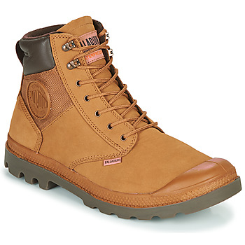 kengät Miehet Bootsit Palladium PAMPA SHIELD WP+ LUX Brown