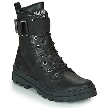 kengät Naiset Bootsit Palladium PALLABOSSE TACT STL Musta