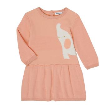 vaatteet Tytöt Lyhyt mekko Noukie's Z050082 Pink