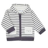 vaatteet Pojat Neuleet / Villatakit Noukie's Z050151 Valkoinen / Sininen