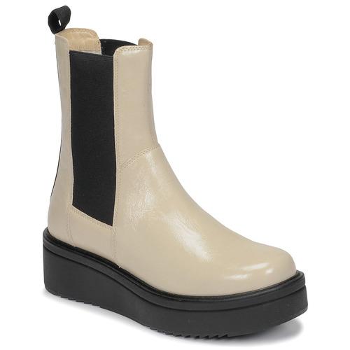 kengät Naiset Bootsit Vagabond Shoemakers TARA Beige