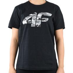 vaatteet Pojat Lyhythihainen t-paita 4F Boy's T-shirt HJL20-JTSM003-20S