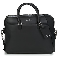 laukut Miehet Salkut Polo Ralph Lauren COMMUTER-BUSINESS CASE-SMOOTH LEATHER Musta
