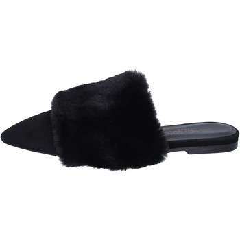 kengät Naiset Sandaalit ja avokkaat Stephen Good sandali camoscio pelliccia Nero
