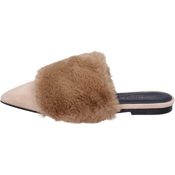 kengät Naiset Sandaalit ja avokkaat Stephen Good sandali camoscio pelliccia Beige