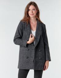 vaatteet Naiset Paksu takki Le Temps des Cerises DILAN1 Black