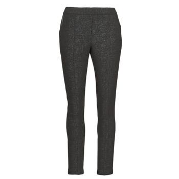 vaatteet Naiset 5-taskuiset housut Le Temps des Cerises BIEBER Black