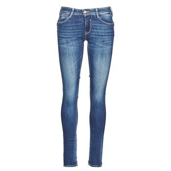 vaatteet Naiset Slim-farkut Le Temps des Cerises PULP Blue