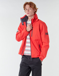 vaatteet Miehet Pusakka Helly Hansen CREW HOODED MIDLAYER JACKET Red