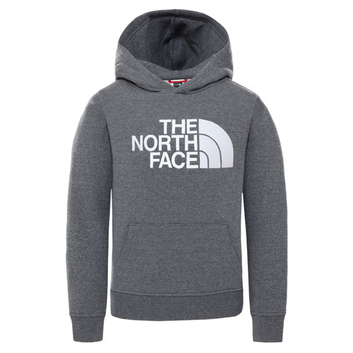 vaatteet Lapset Svetari The North Face DREW PEAK HOODIE Grey