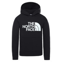 vaatteet Lapset Svetari The North Face DREW PEAK HOODIE Black