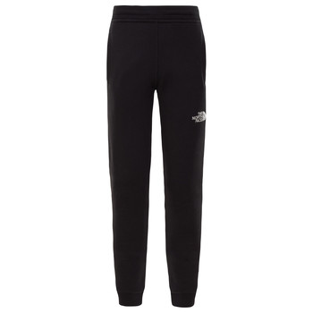 vaatteet Pojat Verryttelyhousut The North Face FLEECE PANT Black