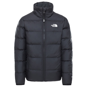 vaatteet Lapset Toppatakki The North Face REVERSIBLE ANDES JACKET SUMMIT Black