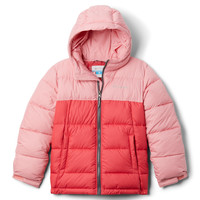 vaatteet Tytöt Toppatakki Columbia PIKE LAKE JACKET Pink