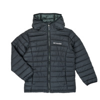 vaatteet Pojat Toppatakki Columbia POWDER LITE HOODED JACKET Black