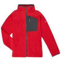 vaatteet Pojat Fleecet Columbia FAST TREK Punainen