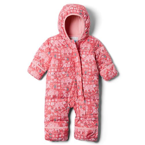 vaatteet Tytöt Toppatakki Columbia SNUGGLY BUNNY Pink