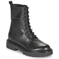 kengät Naiset Bootsit Tosca Blu SF2028S547-C99 Musta